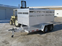Dual Line Small Livestock Trailers -  DL 12