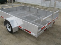 Open Utility Heavy Duty Utility Trailers - BPUC 3