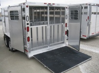 Showmaster Low Profile Small Livestock Trailers - BPLPSM 28B