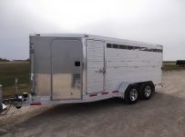 Showmaster Full Height Small Livestock Trailers - BPSM 27