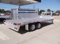 Gooseneck Heavy Equipment Flatbed Trailers - GNF 74