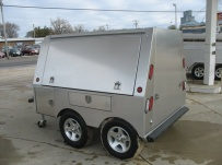 Bumper Pull Enclosed Cargo Trailers - BPDF 24