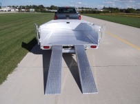 Open Utility Heavy Duty Utility Trailers - BPU 46D