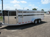 Showmaster Low Profile Small Livestock Trailers - BPLP4V 25B