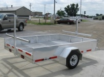 Open Utility Heavy Duty Utility Trailers - BPU 30B