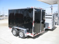 Bumper Pull Enclosed Cargo Trailers - BPDF 36