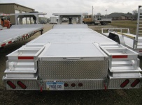 Gooseneck Heavy Equipment Flatbed Trailers - GNF 58