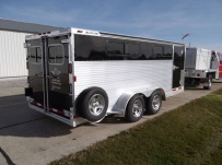 Showmaster Full Height Small Livestock Trailers - BPSM 34A