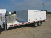 Gooseneck Heavy Equipment Flatbed Trailers -  GNF 46