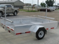 Open Utility Heavy Duty Utility Trailers - BPU 30A