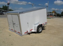 Bumper Pull Enclosed Cargo Trailers - BPDF 21