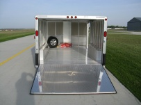 Bumper Pull Automotive All Aluminum Enclosed Trailers - BPA 40C