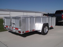 Open Utility Heavy Duty Utility Trailers - BPU 46B