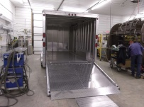Bumper Pull Automotive All Aluminum Enclosed Trailers - BPA 50B