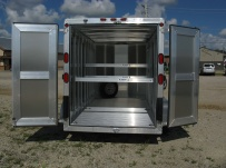 Bumper Pull Enclosed Cargo Trailers - BPDF 42