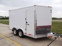 Bumper Pull Automotive All Aluminum Enclosed Trailers - BPA 57B