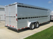 Commercial Double Deck Livestock Trailers - GNDD 41B