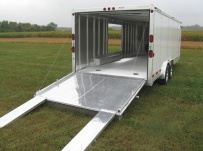 Bumper Pull Automotive All Aluminum Enclosed Trailers - BPA 37B