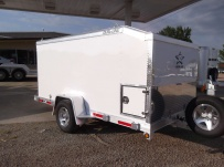 Bumper Pull Enclosed Cargo Trailers - BPDF 51C