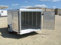 Bumper Pull Enclosed Cargo Trailers -  BPDF 20