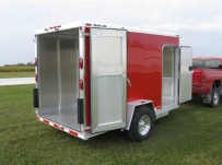 Bumper Pull Enclosed Cargo Trailers - BPDF 33B