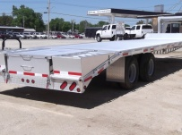 Gooseneck Heavy Equipment Flatbed Trailers - GNF 64A