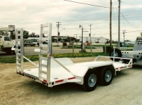 Bumper Pull Heavy Equipment Skid Loader Trailer - SKL 8