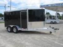 Bumper Pull Automotive All Aluminum Enclosed Trailers - BPA 24