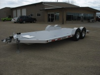 Bumper Pull Open Automotive Aluminum Trailers - BPOC 20B