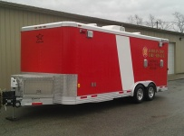 Bumper Pull Enclosed Cargo Trailers - BPDF 58B