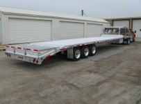Gooseneck Heavy Equipment Flatbed Trailers - GNF 71