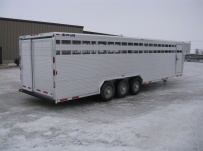 Commercial Gooseneck Livestock Trailers - GNL 59A