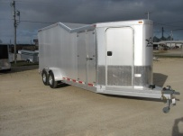 Bumper Pull Automotive All Aluminum Enclosed Trailers - BPA 26A