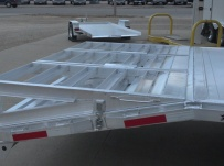 Gooseneck Heavy Equipment Flatbed Trailers - GNF 78B
