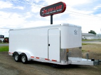 Bumper Pull Enclosed Cargo Trailers - BPDF 53B