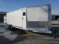 Bumper Pull Automotive All Aluminum Enclosed Trailers - BPA 36D