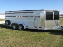 Showmaster Low Profile Small Livestock Trailers - BPLPSM 21A