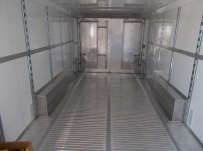 Bumper Pull Automotive All Aluminum Enclosed Trailers - BPA 76B