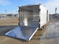 Enclosed Snowmobile/Motorcycle Toy Haulers - BPA 76B