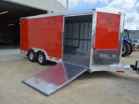 Bumper Pull Automotive All Aluminum Enclosed Trailers - BPA 78B