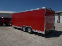 Bumper Pull Automotive All Aluminum Enclosed Trailers - BPA 81A