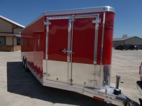 Bumper Pull Automotive All Aluminum Enclosed Trailers - BPA 81B