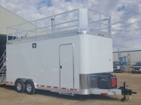 Bumper Pull Automotive All Aluminum Enclosed Trailers - BPA 82A