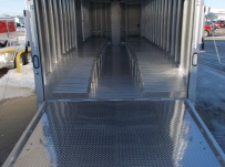 Bumper Pull Automotive All Aluminum Enclosed Trailers - BPA 83C