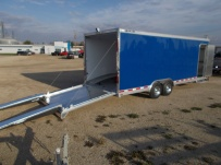 Bumper Pull Automotive All Aluminum Enclosed Trailers - BPA 84A