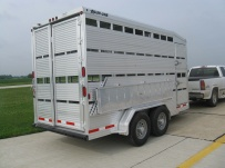 Commercial Double Deck Livestock Trailers - BPDD 2B