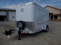 Bumper Pull Enclosed Cargo Trailers - BPDF 100A