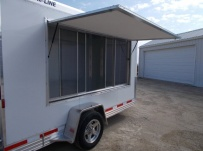 Bumper Pull Enclosed Cargo Trailers - BPDF 100B