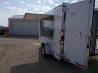 Bumper Pull Enclosed Cargo Trailers - BPDF 100C
