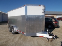 Bumper Pull Enclosed Cargo Trailers - BPDF 103A